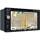 "Jensen VX7022 2 DIN Multimedia Receiver, 6.2"" Touch Screen with Bluetooth, SiriusXM (Black)"