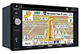 "Jensen VX7022 2 DIN Multimedia Receiver, 6.2"" Touch Screen with Bluetooth, SiriusXM (Black)"