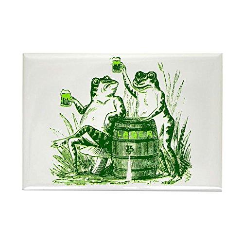 CafePress Drunk Frogs St Patricks Day Rectangle Magnet Rectangle Magnet, 2