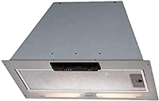 CATA GT Plus 75 560 m³/h Encastrada Acero inoxidable - Campana (560 m³/h, 68 dB, Encastrada, Acero inoxidable, 9 W, 2 bombilla(s)): Amazon.es: Hogar