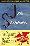 Baltasar and Blimunda by José Saramago front cover