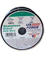 US Forge Welding Stainless Steel MIG Wire .030 2-Pound Spool No.00676