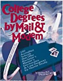 College Degrees by Mail and Modem 1998, John Bear and Mariah P. Bear, 0898159342
