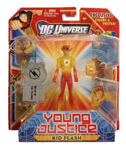 DC Universe Exclusive Young Justice Action Figure Kid Flash by DC -