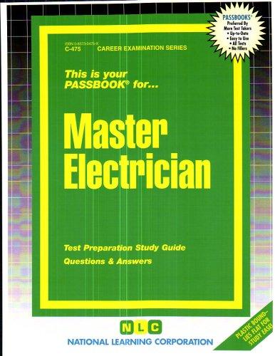 Master Electrician (Career Examination Passbooks)