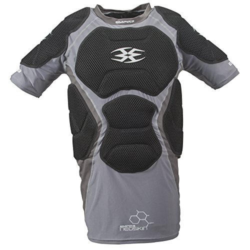 Empire Paintball Neoskin Chest Protector - Black/Grey - Large/XL ()