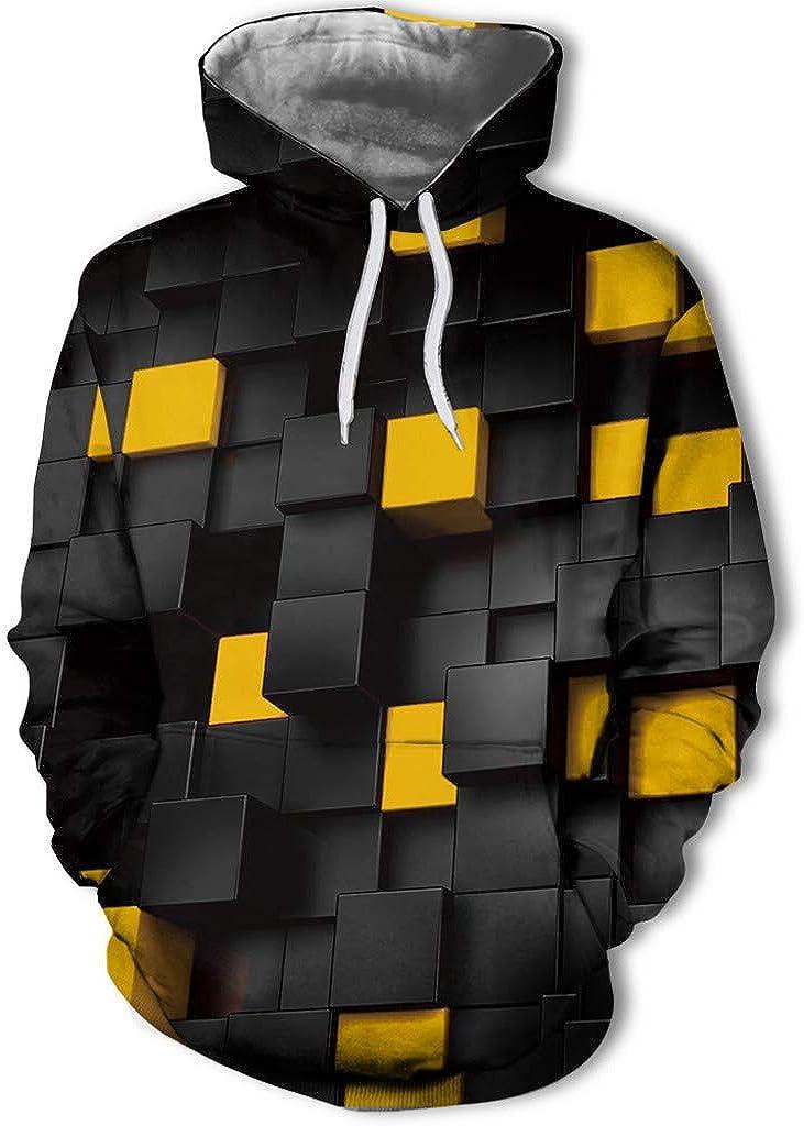 Bravetoshop Unisex 3D Creative Hoodies Realistic Graphic Patterns Print Novelty Fashion Hoodie Pullover Sweatshirt