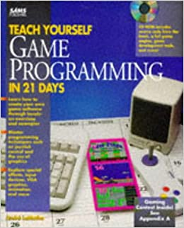Teach yourself game programming in 21 daysbook and cd rom sams teach yourself game programming in 21 daysbook and cd rom sams teach yourself andre lamothe 9780672305627 amazon books solutioingenieria Image collections