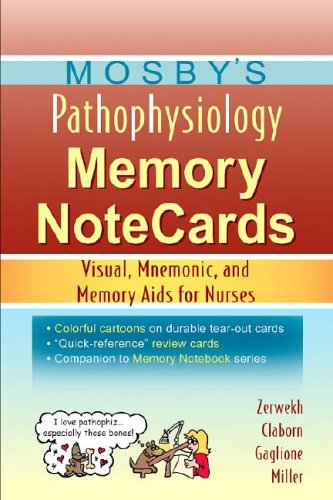 Pdf Medical Books Mosby's Pathophysiology Memory NoteCards: Visual, Mnemonic, and Memory Aids for Nurses