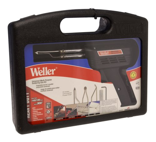 100w Soldering Gun (Weller WEL8200PK 120-Volt 140/100 Watts Universal Soldering Gun Kit)