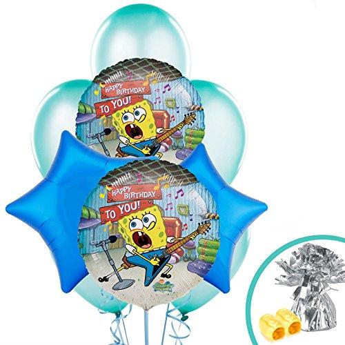 [Costume Supercenter BB101463 Spongebob Party Balloon Kit] (Spongebob Halloween Costume)