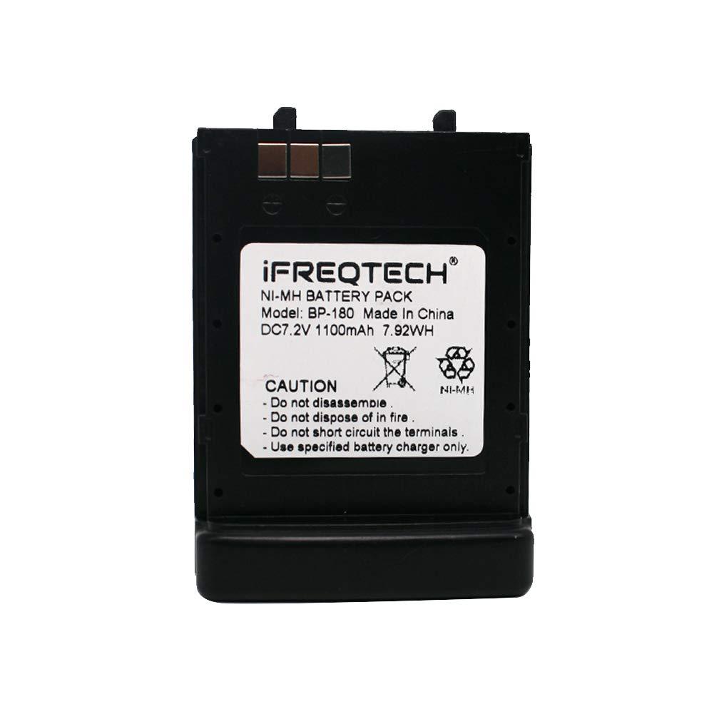BP-173 Battery for Icom IC-T22E IC W31 IC-W32 IC-W32A IC-T7 IC-T7A IC-T7H IC-T70 IC-T22 IC-T22A BP-180 Battery Replacement 1100mAh