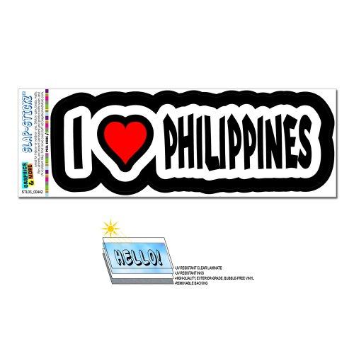 Philippines SLAP STICKZ Automotive Window Sticker
