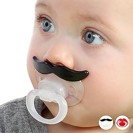 Puericultura - Chupete bigote kiokids