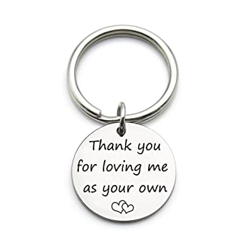 Amazoncom Xgakwd Step Mom Mother Gift Thank You For Loving Me As