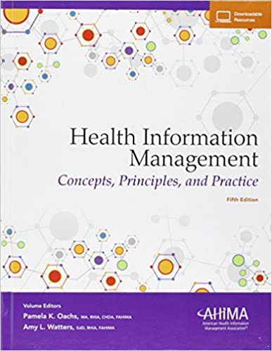 Health Information Management: Concepts, Principles, and Practice, 5th Edition - Original PDF