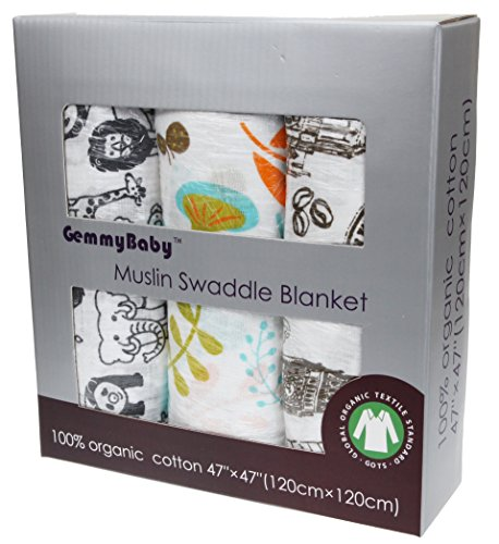Organic Swaddle Breathable Multi purpose Blankets product image