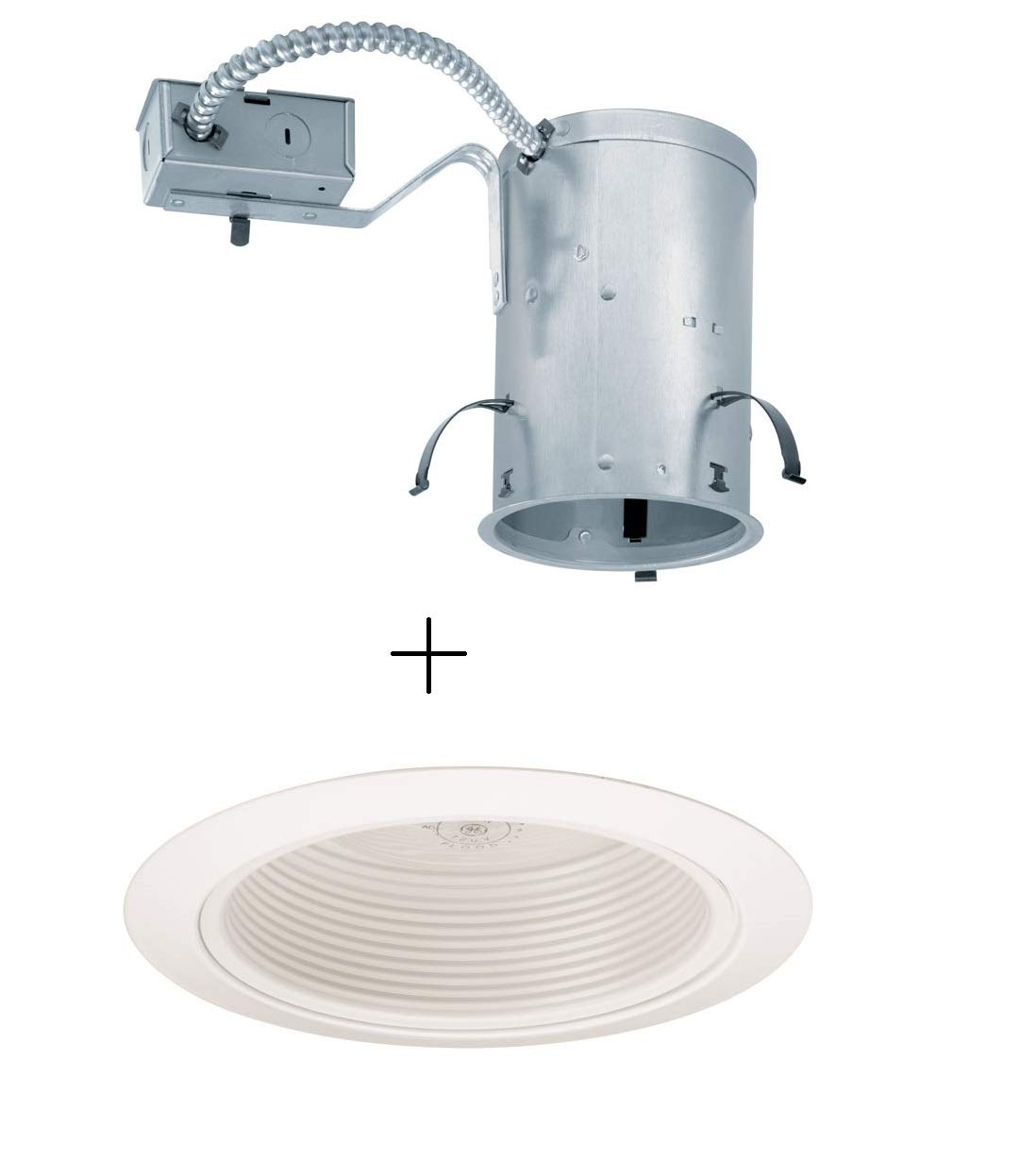 juno lighting ic20r 205 wwh 5 inch ic rated remodel recessed rh amazon com