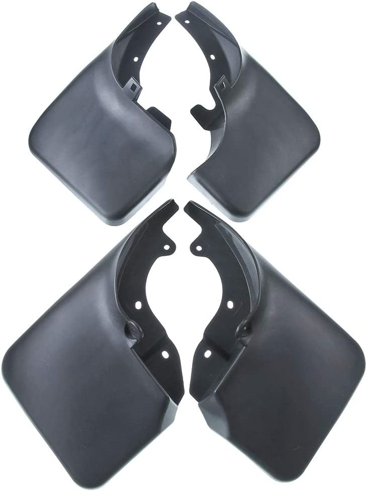 A-Premium Splash Guard Mud Flaps Replacement for Toyota Land Cruiser 80 Series 1990-1997 without Fender Flares 4-PC Set