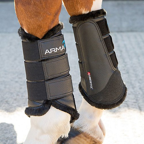 Shires ARMA Fur Lined Brushing Boots Cob