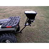Field Tuff AS-80ATV12 Receiver Mount Spreader, 80-Pound