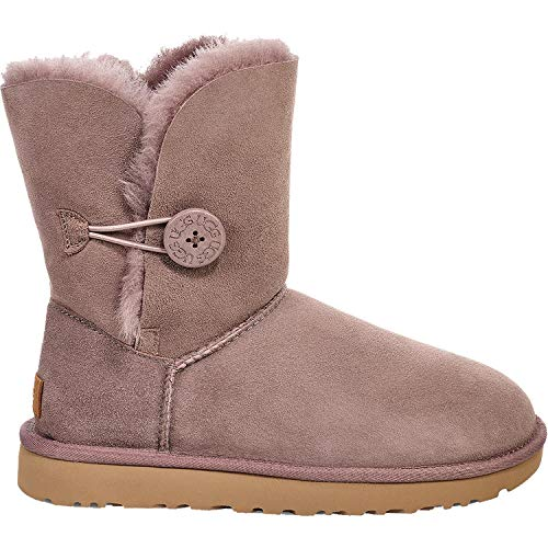 UGG Womens Bailey Button II Boot, Stormy Grey, Size 7