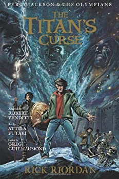 The Titan's Curse: The Graphic Novel 1423145518 Book Cover