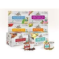 Super Organics 6 Piece Coffee & Tea Variety Pack, 72 Count