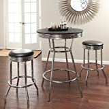 Roundhill-Furniture-Retro-Style-3-Piece-Chrome-Metal-Bar-Table-and-Stools