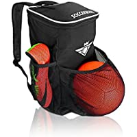 Soccer Backpack with Ball Holder Compartment - for Kids...