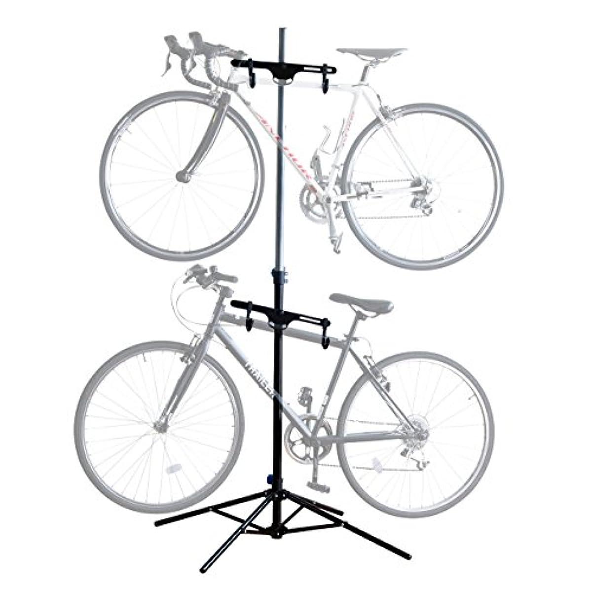 [해외] 산와 다이렉트 자전거 스탠드 2대용 800-BYST3