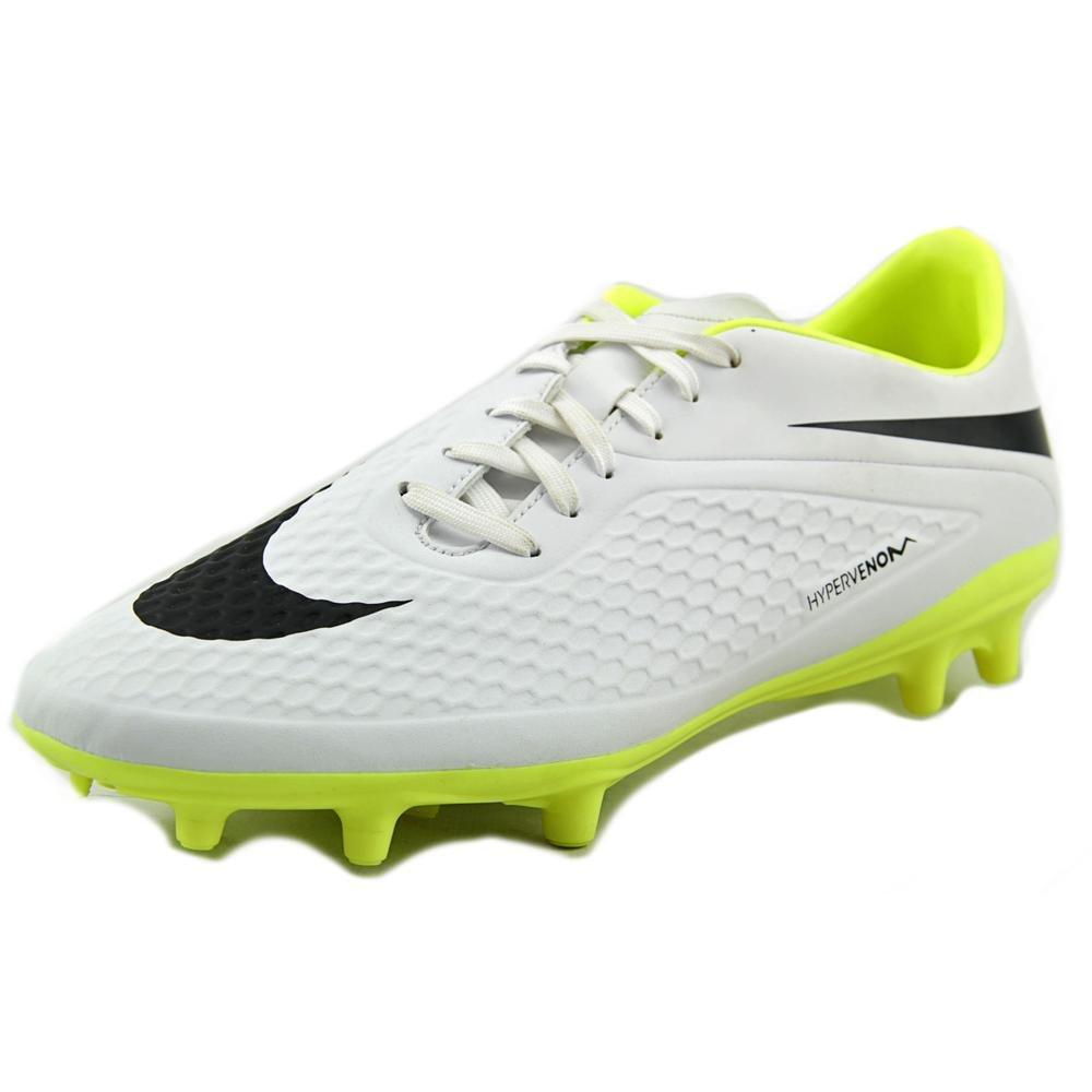 Nike Hypervenom Phelon Fg, Scarpe da Calcio Uomo Bianco Weiß/Lime 45 EU 599730-107