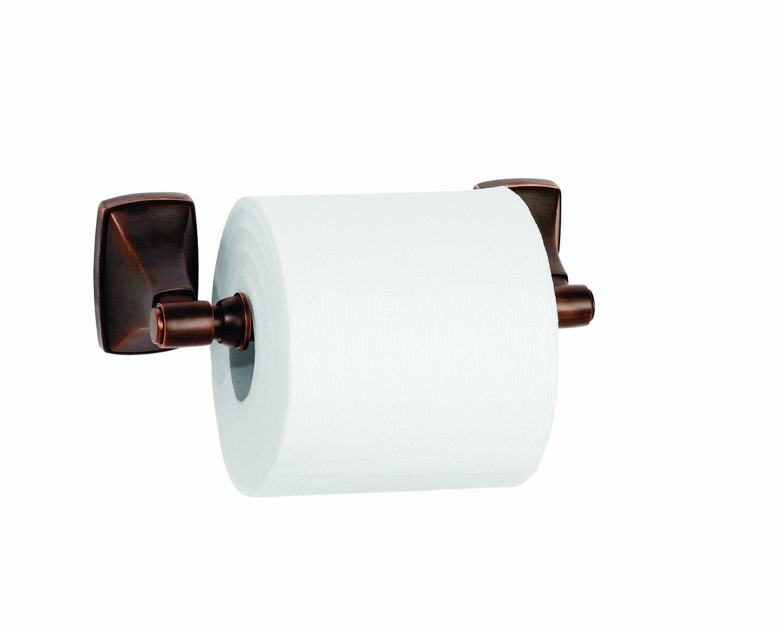 Amerock BH2650726 Clarendon Tissue Roll Holder 8-5//16 Polished Chrome