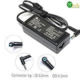 YTech 19.5V 3.33A 65W AC Power Adapter Charger for HP Envy Touchsmart 14-k00tx 14-k047tx, HP Chromebook 14-q010nr,HP Pavilion Sleekbook 14-b000,Fit PPP009L-E PA-1650-32HE