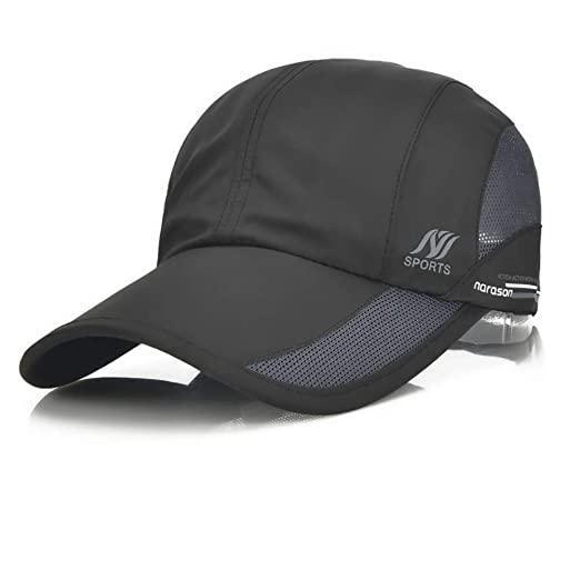 75fd0f8cf25d4 Image Unavailable. Image not available for. Color  Sport Cap Summer Quick  Drying Sun ...