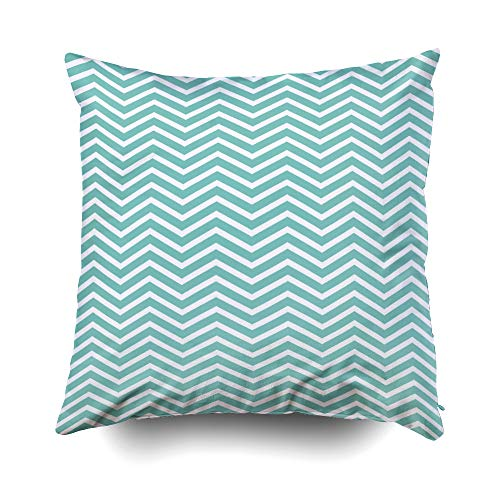 - Musesh Zigzag Pattern Trendy Simple Image Creative Rich Luxury Gradient Print Cloth Clothes Dress Cushions Throw Pillow Cover for Sofa Home Decorative Pillowslip Gift Pillowcase 16X16Inch