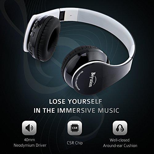 5822dc9b3d6 Beyution V4.1 Bluetooth Headphones Wireless Foldable Hi-fi - Import It All