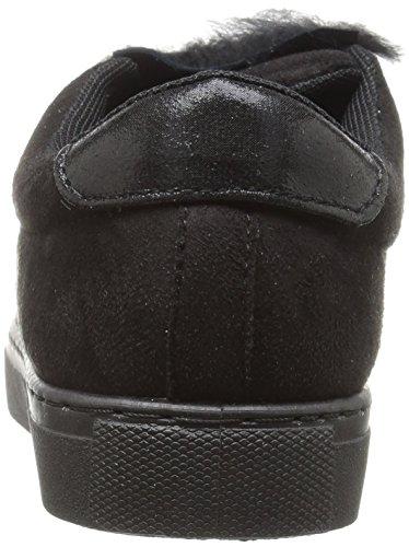 Qupid Kvinners Marlow-01 Mote Sneaker Svart