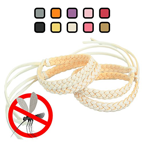 Original Kinven Mosquito Repellent Bracelet Natural DEET FREE Insect Repellent Bands, Anti Mosquito up to 360Hrs Protection Outdoor and Indoor, for Adults & Kids, 8 bracelets, Color: (Pro Fly Yo Yo)