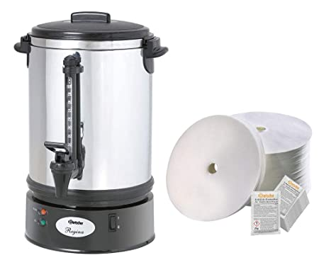 Bartscher redondo filtro cafetera eléctrica Regina Plus 90T ...