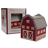 Tuscany Candle Country Barn Farm Electric Tart Wamer Burner Red White