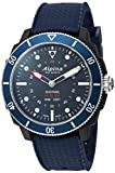 Alpina Men's AL-282LNN4V6 Horological Smart Watch Analog Display Quartz Blue Watch
