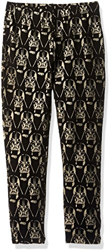 Star Wars Big Girls' Darth Vader Legging, Black, M 7/8