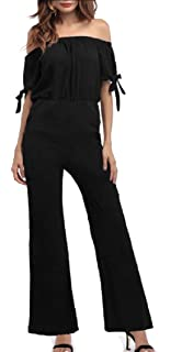 ARTFFEL Womens Casual Sport Skinny Fit Long Sleeve Stitching Full Zip Jumpsuit Romper