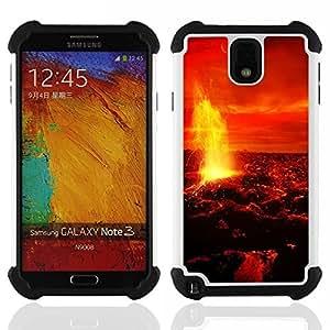 King Case - magma lava fire venus planet red sky universe - Cubierta de la caja protectora completa h???¡¯???€????€?????brido Body Armor Protecci