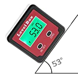 Robolife Digital Angle Finder Inclinometer Level Box Protractor Angle Finder Backlight