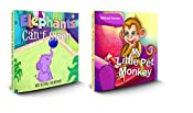 Edmund The Elephant And The Monkey: (Children's book, Elephants Can't Sleep + My Little Pet Monkey Collection, Picture Books, Preschool Books, Ages 3-5, Baby Books, Kids Book, Bedtime Story)