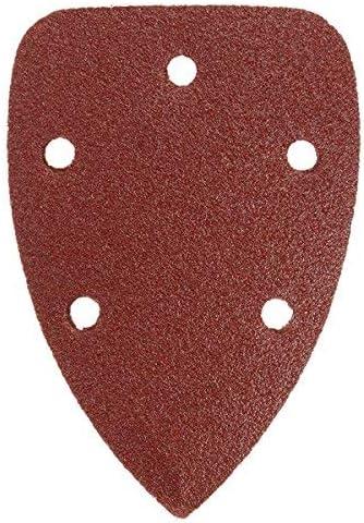 CHUNSHENN 40pcs 60-240 Grit 140x90mm Triangle Sandpaper Mouse Sanding Sheets Sander Pads Abrasive Accessories
