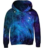 Goodstoworld Galaxy Hoodie for Kids 3D Clothes Boys Girls 6 7 8 Years Cool Unisex Sport Pullover Fleece Hoodie Sweatshirts