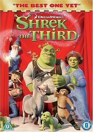 Amazon Com Shrek The Third Shrek 3 Dvd 2007 Mike Myers As Shrek Eddie Murphy As Donkey Cameron Diaz As Princess Fiona Antonio Banderas As Puss In Boots Movies Tv